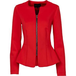 BODYFLIRT Scuba-Jacke in rot für Damen von bonprix