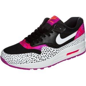 Nike Sportswear AIR MAX 1 Sneaker black/white/fireberry pink pow