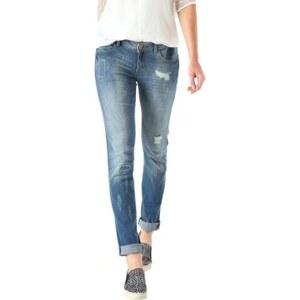 Promod Slim-Fit-Jeans im Used-Look