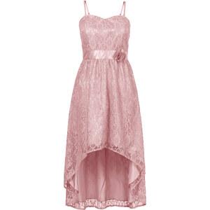 BODYFLIRT Spitzenkleid in rosa von bonprix