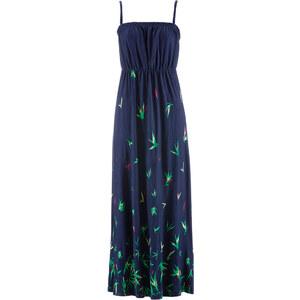 bpc bonprix collection Maxi-Jerseykleid ohne Ärmel in blau von bonprix