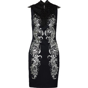 BODYFLIRT boutique Kleid/Sommerkleid ohne Ärmel in schwarz von bonprix
