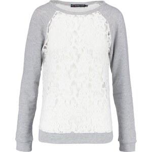 Even&Odd Sweatshirt grey melange/white