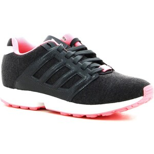 adidas Chaussures BASKETS ZX FLUX 2.0 W ANTHRACITE/ROSE -