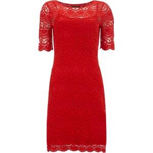 Lauren Ralph Lauren Kleid im 2-in-1-Look aus Häkelspitze