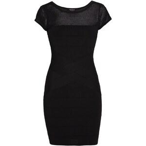 Morgan Kleid mit kurzem Schnitt - schwarz