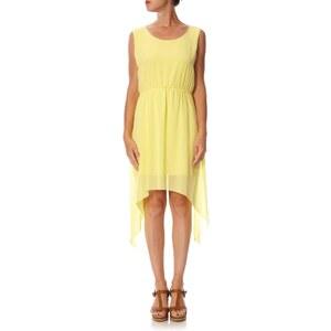 Best de l'été Kleid mit fließendem Schnitt - gelb