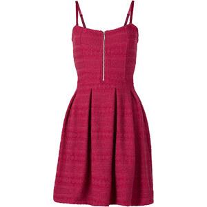 RAINBOW Shirtkleid ohne Ärmel in pink von bonprix