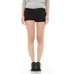 PIMKIE Shorts aus schwarzem Denim