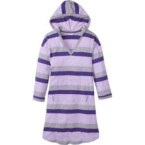 bpc bonprix collection Lounge Nachthemd langarm in grau für Damen von bonprix