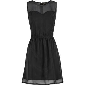RAINBOW Kleid mit Kragen ohne Ärmel in schwarz von bonprix