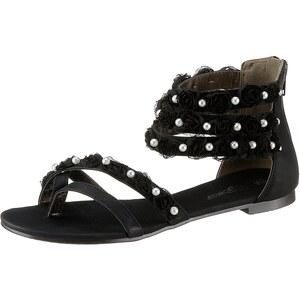 City Walk Sandale mit Perlen