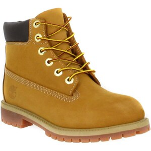 Timberland Boots 6in Premium 12909 velours Femme Ocre