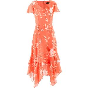 bpc selection Kleid mir Blumendruck/Sommerkleid in rot von bonprix