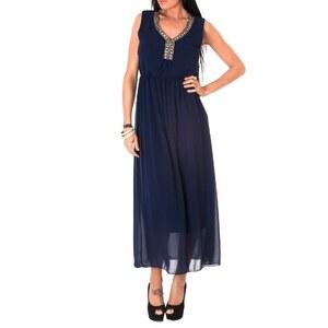Toutes les robes Langes Kleid - Marineblau