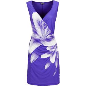 BODYFLIRT Jersey-Kleid in blau von bonprix