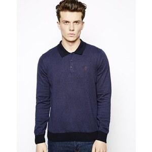 Peter Werth Long Sleeve Polo Shirt