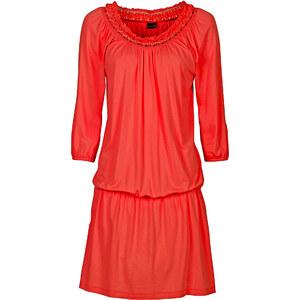 BODYFLIRT Kleid 3/4 Arm in rot (Rundhals) von bonprix