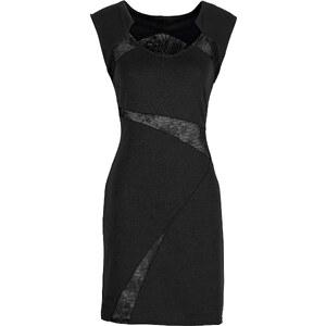 BODYFLIRT Kleid ohne Ärmel in schwarz (Rundhals) von bonprix