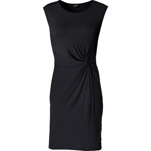 BODYFLIRT Shirtkleid/Sommerkleid ohne Ärmel in schwarz (Rundhals) von bonprix