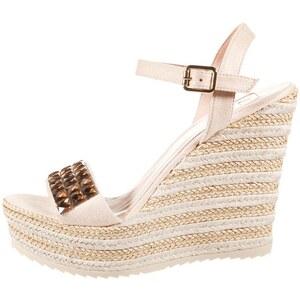 Kanna High Heel Sandaletten natural/fard