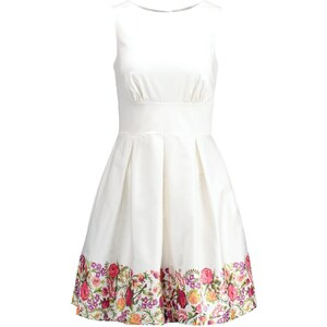 Closet Freizeitkleid rose embroidery print