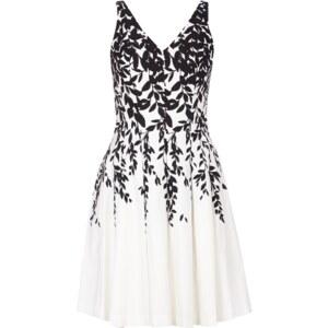 Lauren Ralph Lauren Trägerkleid mit Kellerfalten und floralem Muster