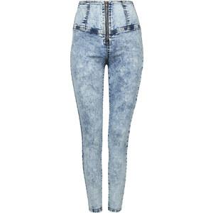 Tally Weijl Hellblaue, hochgeschnittene Skinny-Jeans