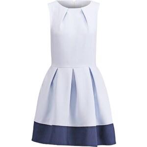 Closet Freizeitkleid pale blue/navy boarder