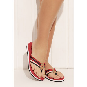 Tommy Hilfiger - Monica - Zehensteg-Sandalen - Red