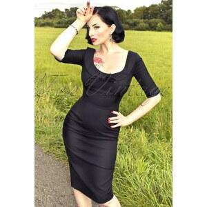 Glamour Bunny 60s Joan Dress black