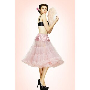 Bunny 50s retro Petticoat chiffon Dolly Pink