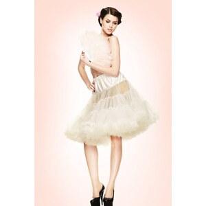 Bunny 50s retro Petticoat chiffon Ivory