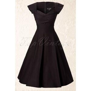 Stop Staring! 50s Mad Men swing dress black