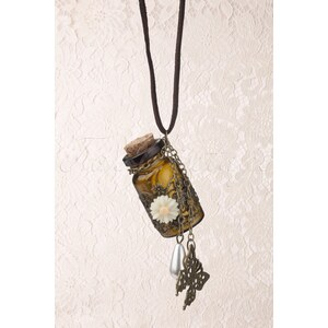 From Paris with Love! Message in a Bottle! necklace