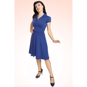Rock Steady Clothing Lana Dress Royal Blue