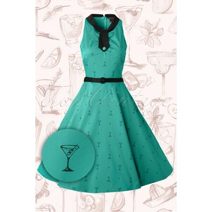 Vixen 50s Martini Swing Dress