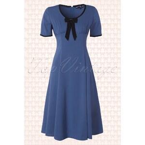 Bunny 50s Alveira Dress Cobalt Blue