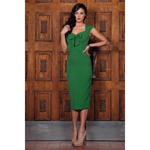 Stop Staring! 50s Karlie Pencil Dress in Vintage Green