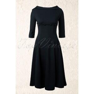 Lindy Bop 50s Marla Dress in Black