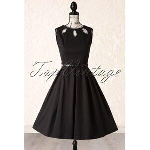 Lindy Bop 50s Lily Swing Dress in Black