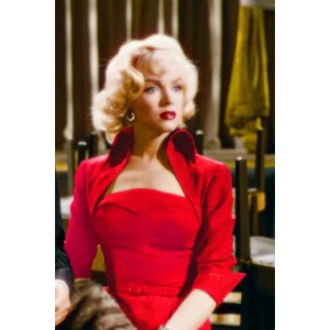Glamour Bunny TopVintage exclusive ~ 50s Lorelei Marilyn Monroe Red Dress