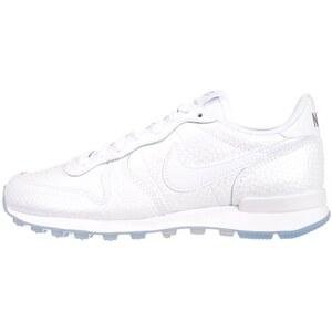 Nike Sportswear INTERNATIONALIST PREMIUM Sneaker low white/metallic silver