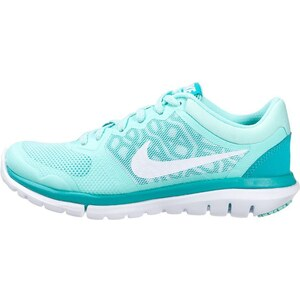 Nike Performance FLEX 2015 RUN Laufschuh Leichtigkeit artisan teal/white/light retro