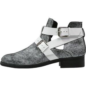 Zign Ankle Boot black/white