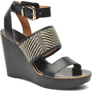 Mellow Yellow - Saubelle - Sandalen für Damen / schwarz