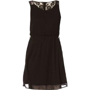 Only Kleid mit kurzem Schnitt - schwarz