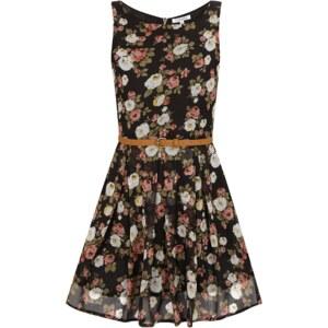 Glamorous Kleid mit Blumenmuster und Taillengürtel