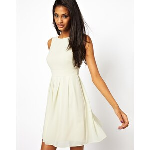 TFNC Chiffon Skater Dress