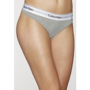 Calvin Klein - Modern Cotton - String - Grey Melange